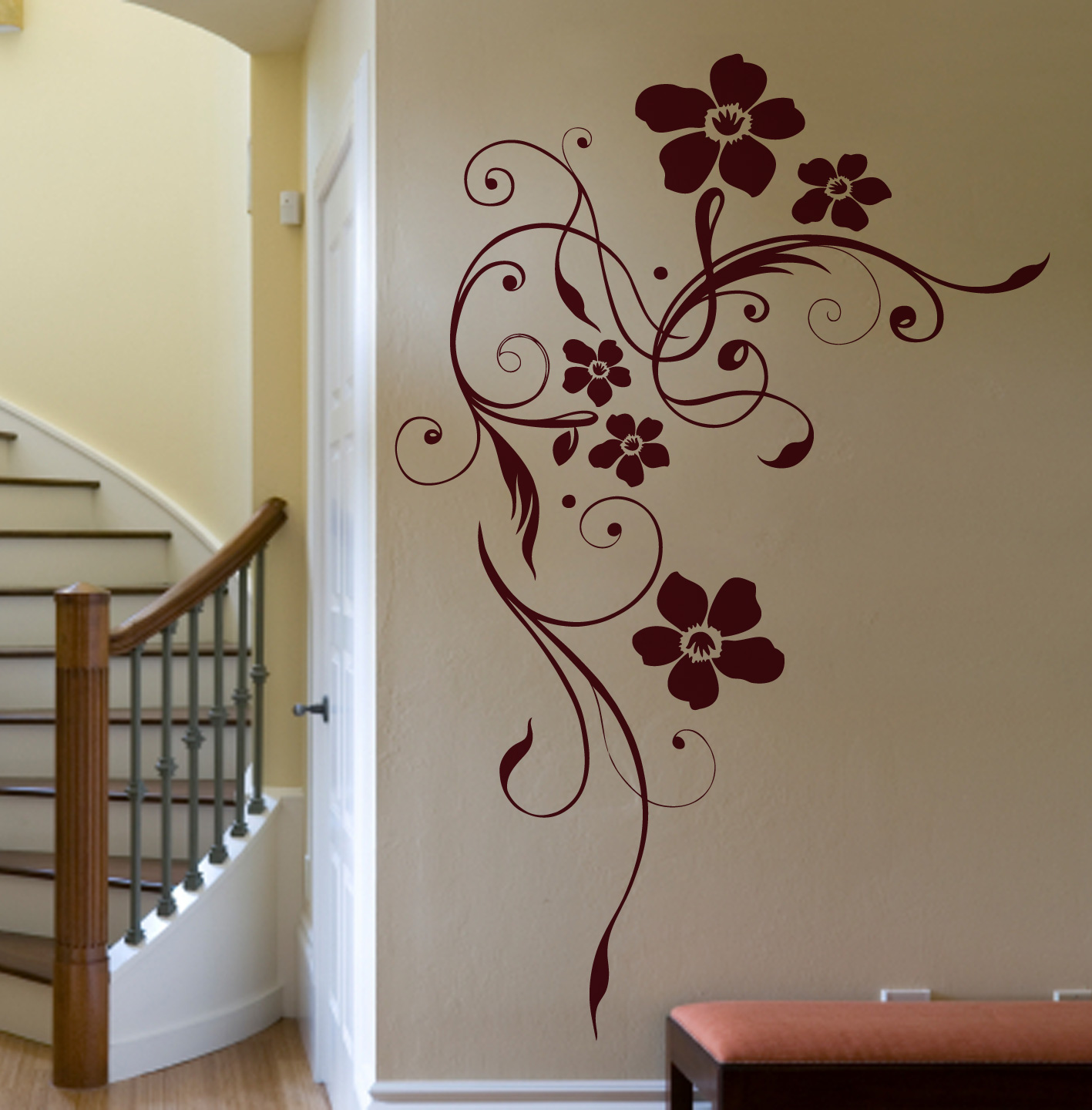 Led Ambientebeleuchtung Wohnzimmer : led ambientebeleuchtung wohnzimmer:wandtattoo wohnzimmer ornamente ...